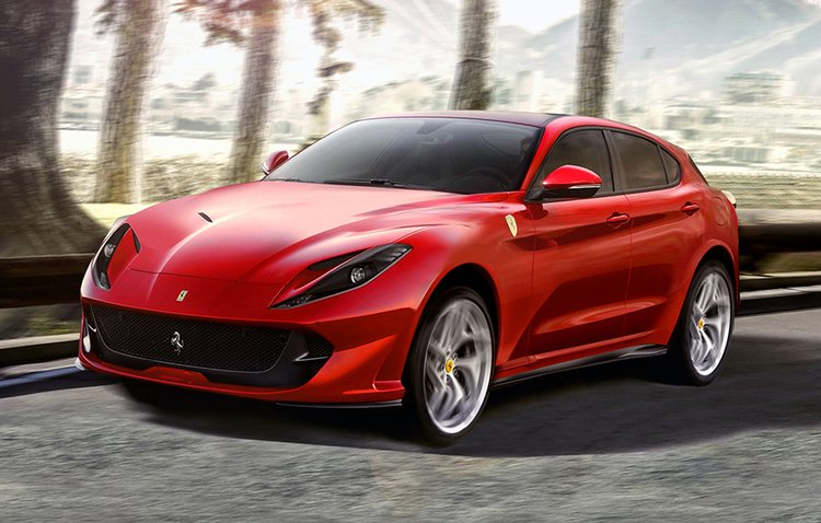 Ferrari SUV Set To Launch In Early 2022
