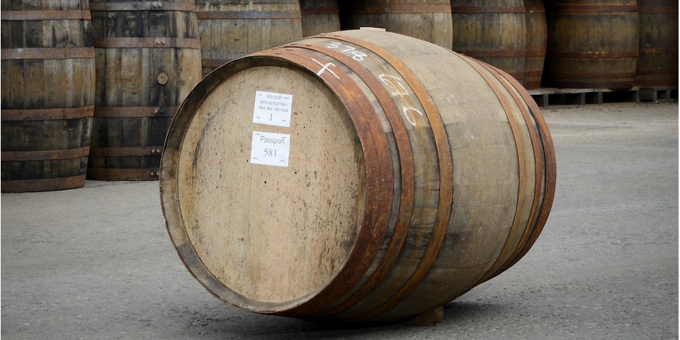 30-year-old Macallan Whisky Cask Set to Sell at Auction for Over $500,000