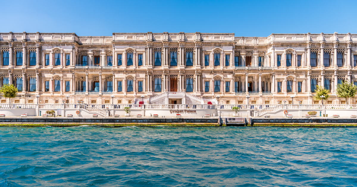 A Look Inside Istanbul's Icon and Luxury Hotel Ciragan Palace