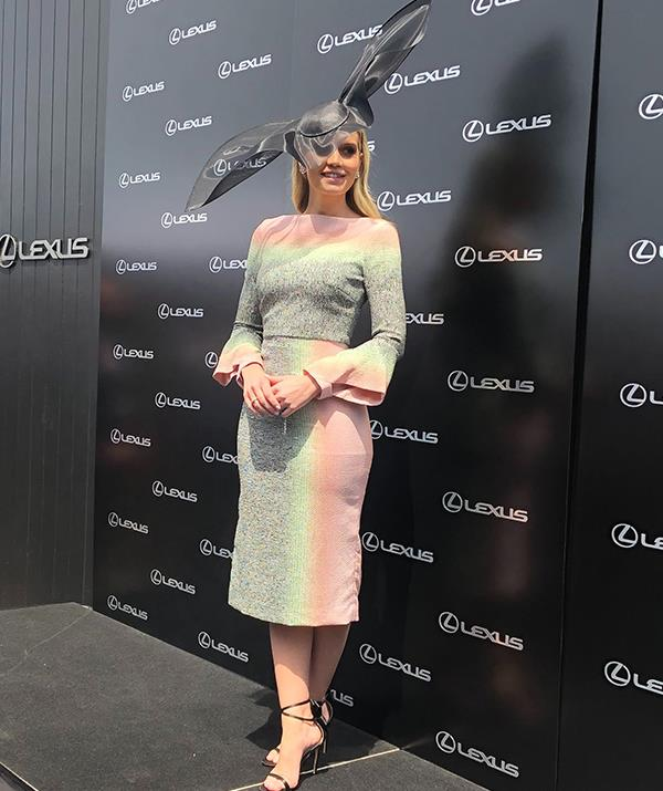 Lady Kitty Spencer at the Melbourne Cup 2019