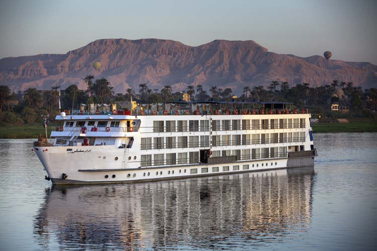 Experience The Best of Egypt Aboard This Luxury Nile Cruise Ship