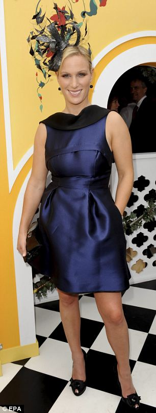 Zara Tindall at Melbourne Cup 2009