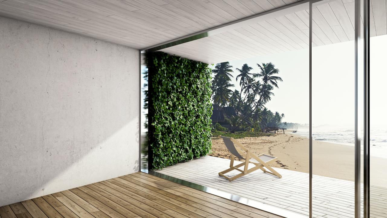 How to Create an Indoor Vertical Garden for a Bold Entrance