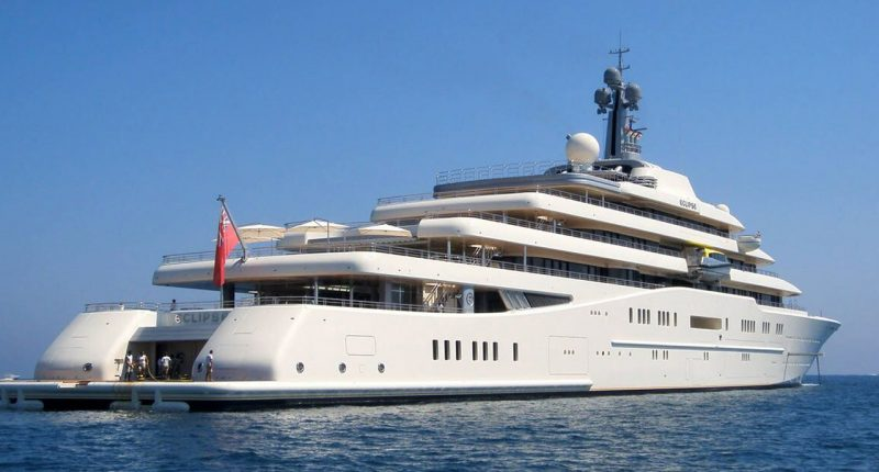 Roman Abramovich Spends $65 Million A Year To Maintain His Super-Yacht