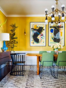 How to Use Bright Colours in Your Home