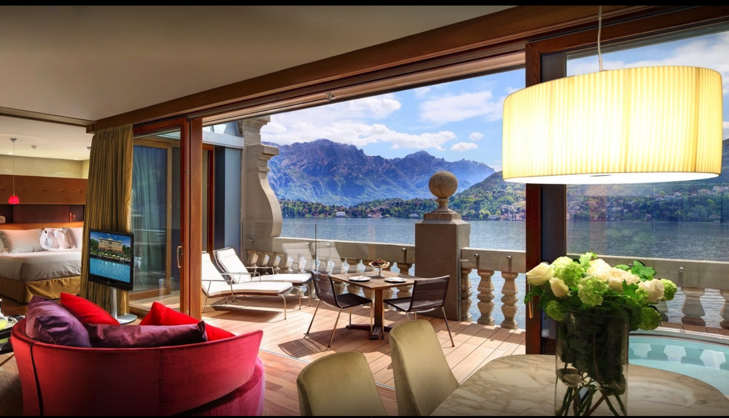 The Top Five Resorts to Visit in Lake Como