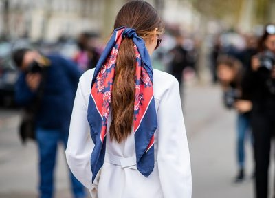 The Ultimate Summer Trend: Hair Wrapped in Silk Scarfs