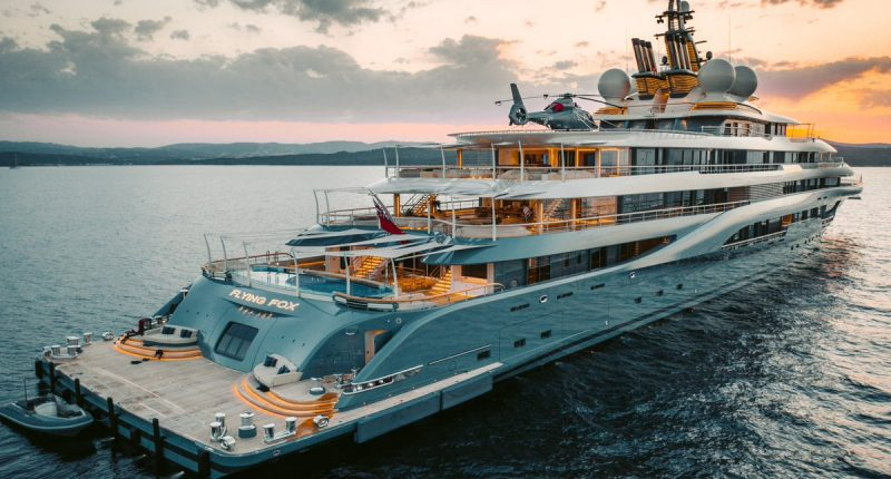 Jeff Bezos Invests $400M into Superyacht Machine