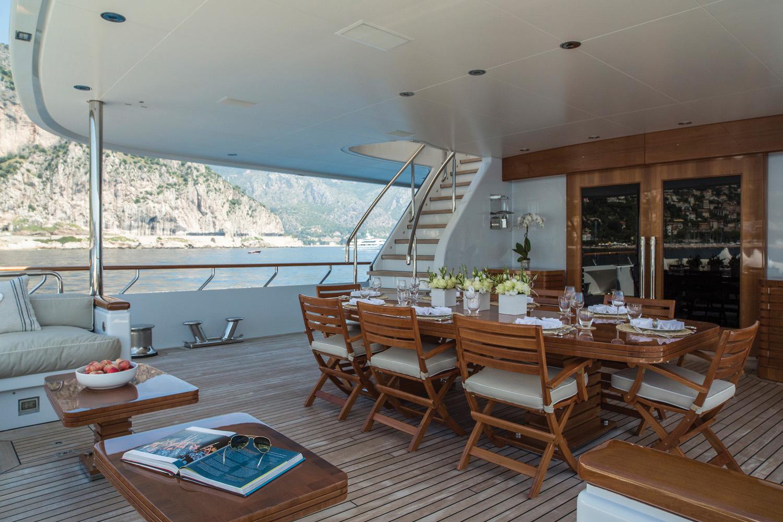 Amancio Ortega, Loves to Take Drizzle Megayacht Down the Adriatic