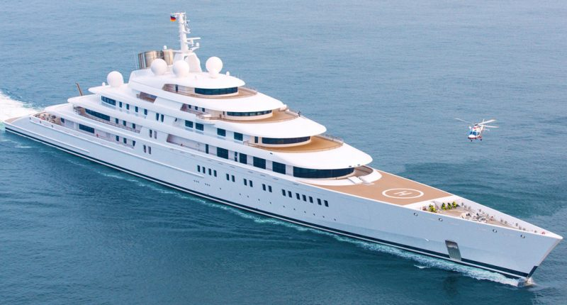 Inside the Azzam: One of the Largest Superyachts Ever Built