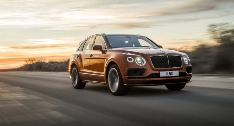 Bentley Bentayga Dubbed The Fastest SUV