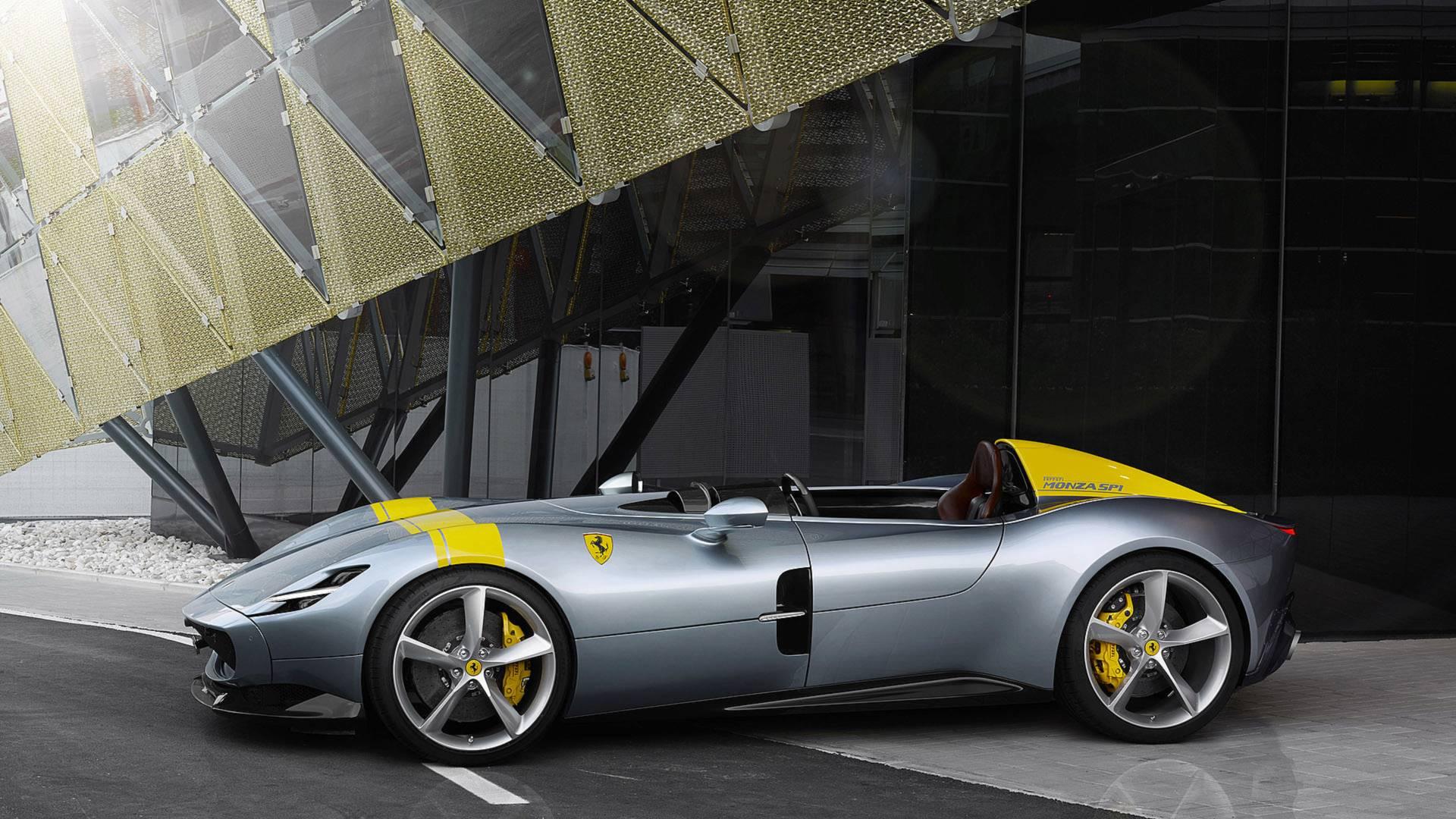 The Ferrari Monza SP1  Will Take Your Breath Away