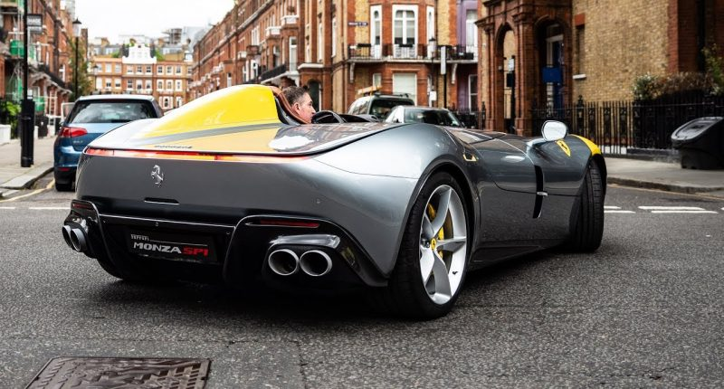 The Ferrari Monza SP1  Will Take Your Breath Away