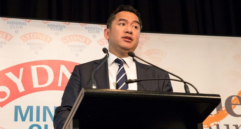 Galaxy Resources (ASX:GXY) - Executive Director, Anthony Hse