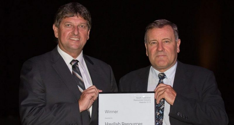 Havilah Resources (ASX:HAV) - Technical Director, Chris Giles (right)
