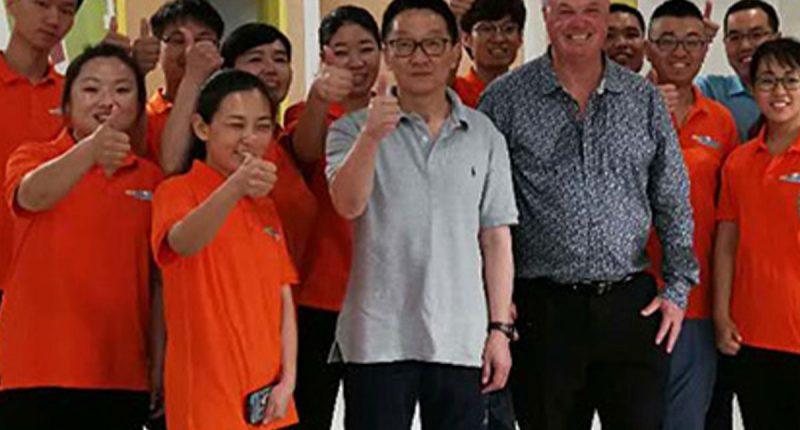 Jatcorp (ASX:JAT) - Managing Director, Wilton Yao (centre) - The Market Herald