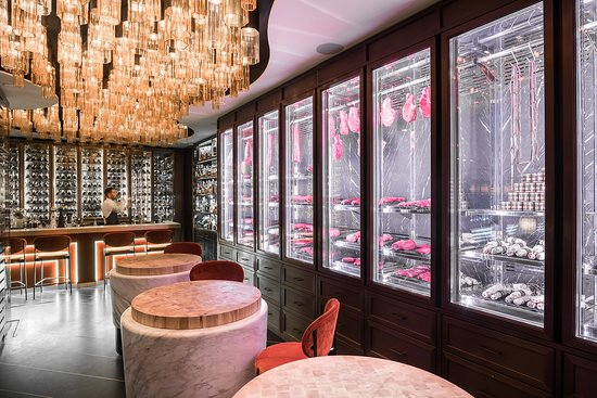 A Glimpse Inside The Modern Beefbar Monaco
