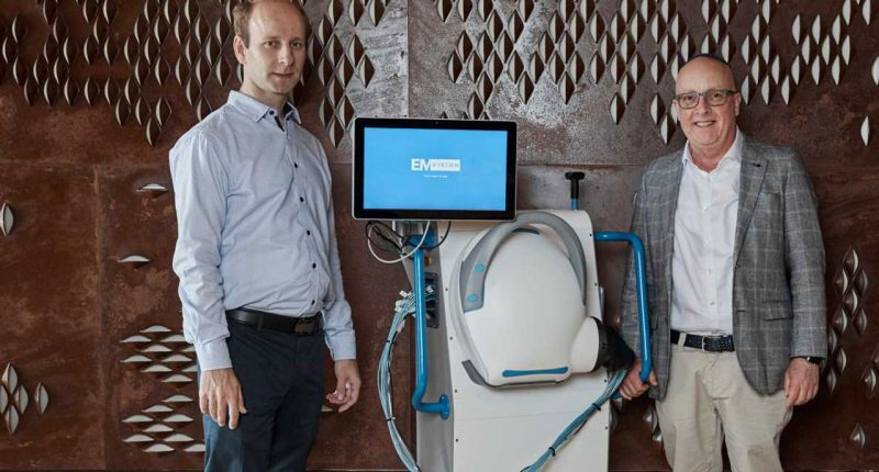 EMVision Medical Devices (ASX:EMV) - CEO, Dr Ron Weinberger (right) & Head of Technology, Dr Konstanty Bialkowski (left) - The Market Herald
