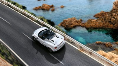 Alfa Romeo 4C Spider Convertible does 0-100km in 4.1 seconds