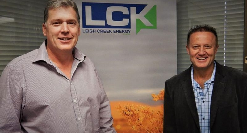 Leigh Creek Energy (ASX:LCK) - Managing Director, Phil Staveley (left) - The Market Herald