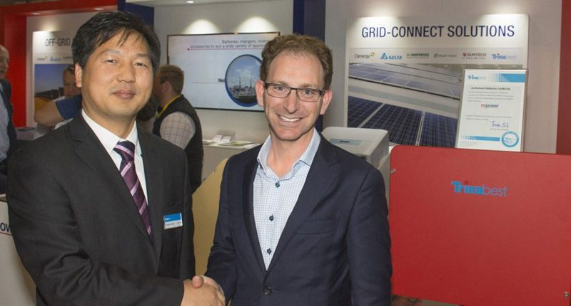 MPower (ASX:MPR) - CEO & Managing Director, Nathan Wise (right)