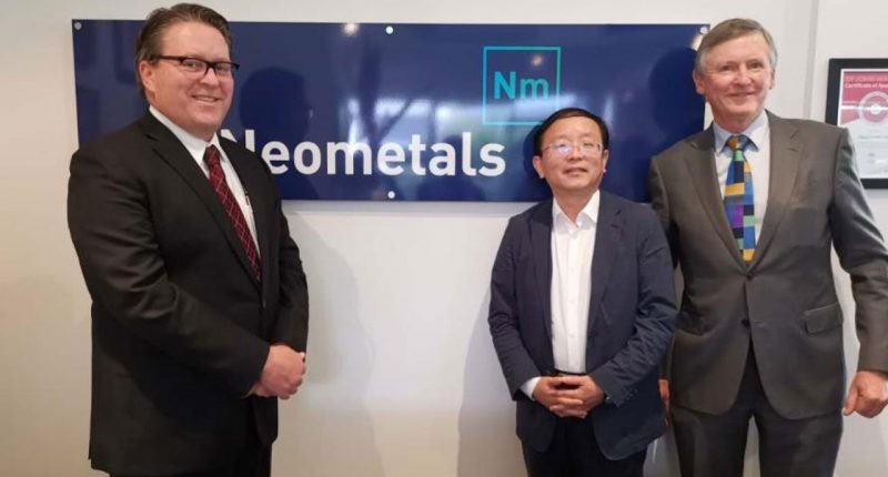 Neometals (ASX:NMT) - Managing Director & CEO, Chris Reed (left) - The Market Herald