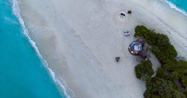 Sleep Under the Stars on a Sandbank in The Maldives