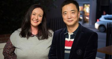Harris Technology Group (ASX:HT8) - CEO & Managing Director, Garrison Huang (right) - The Market Herald
