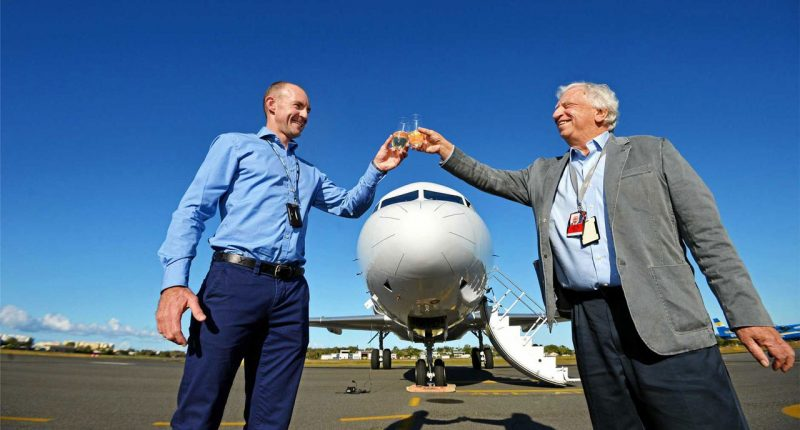 Alliance Aviation Services (ASX:AQZ) - Non Executive Chairman, Stephen Padgett (Right) - The Market Herald