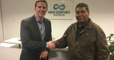 New Century Resources (ASX:NCZ) - Managing Director, Patrick Walta (left) - The Market Herald