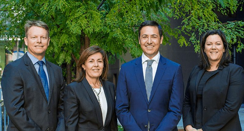 Pioneer Credit (ASX:PNC) - Managing Director, Keith John (Second from right)