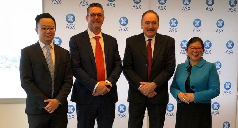 Vonex (ASX:VN8) - Managing Director, Matt Fahey (second from left)