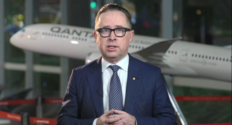 Qantas Airways (ASX:QAN) - CEO, Alan Joyce