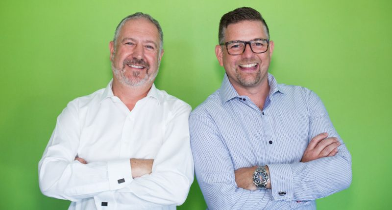 Xref (ASX:XF1) - Co founder & CTO, Tim Griffiths (left), Co founder & CEO, Lee Martin Seymour (right)