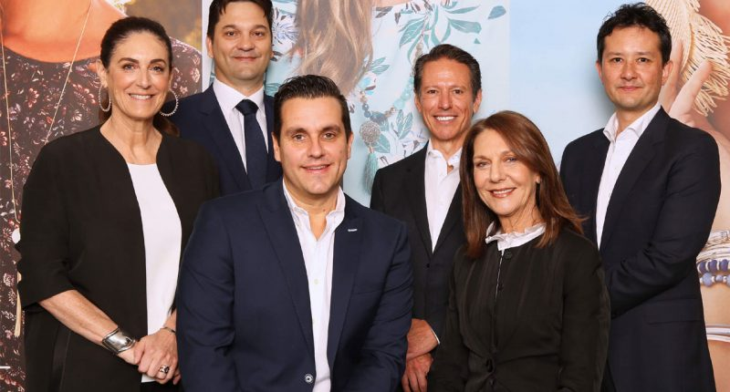 Mosaic Brands (ASX:MOZ) - CEO, Scott Evans (seated front)