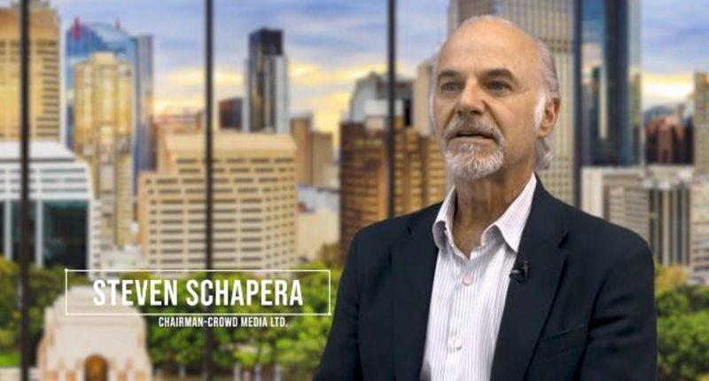 Crowd Media Holdings (ASX:CM8) - Chairman, Steven Schapera