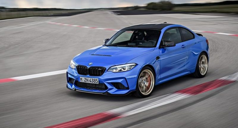 Lightweight but powerful: the BMW M2 CS