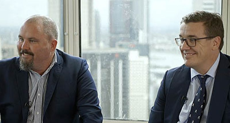 Bass Metals (ASX:BSM) - CEO, Tim McManus (left) & Executive Director, Peter Wright (right)