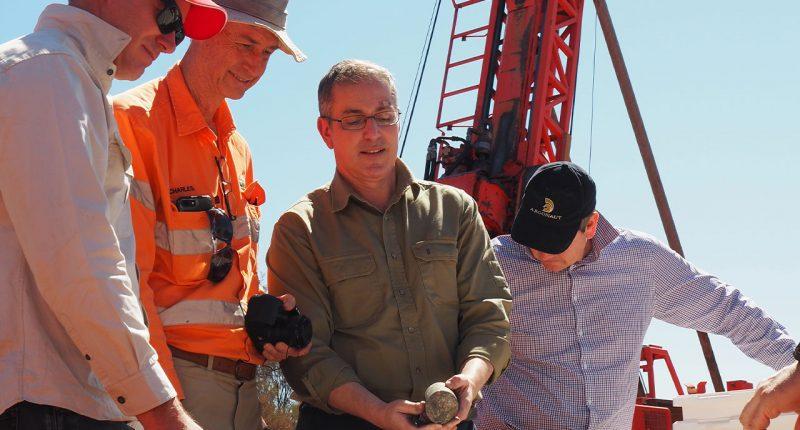 St George Mining (ASX:SGQ) - Executive Chairman, John Prineas (centre)