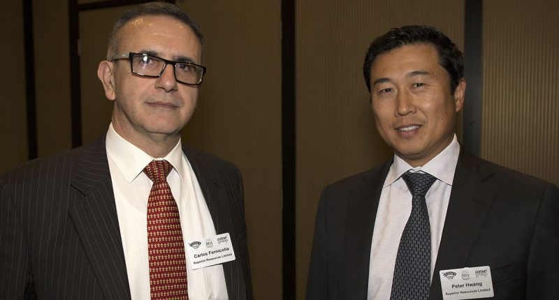 Superior Resources (ASX:SPQ) - Managing Director, Peter Hwang (right) - The Market Herald