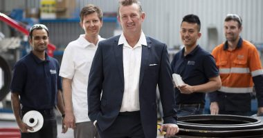 AML3D (ASX:AL3) - Managing Director, Andrew Sales (centre) - The Market Herald