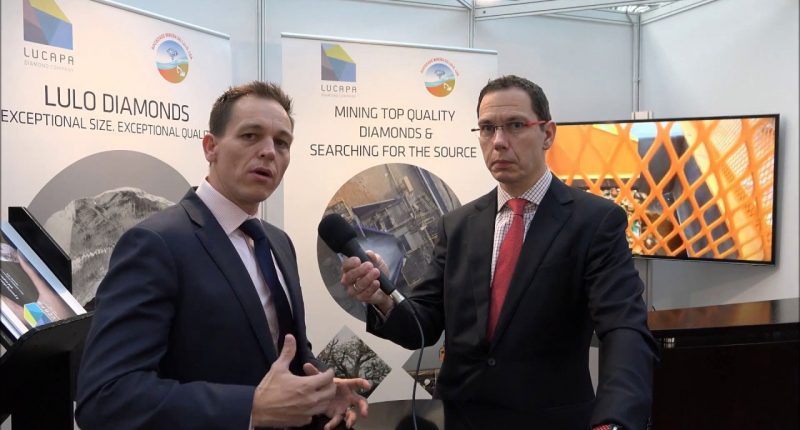 Lucapa Diamond Company (ASX:LOM) - CEO, Stephen Wetherall (left) - The Market Herald