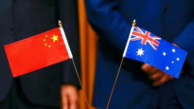 Tensions between Australia and China intensify