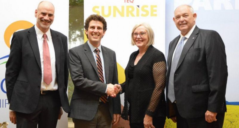 Cleanteq (ASX:CLQ) - CEO, Sam Riggall (second from left)