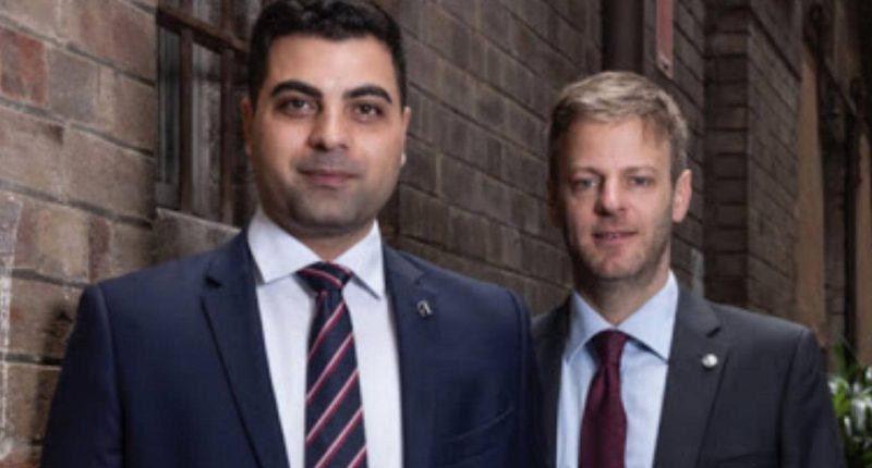 Archer Materials (ASX:AXE) - CEO, Mohammad Choucair (left)