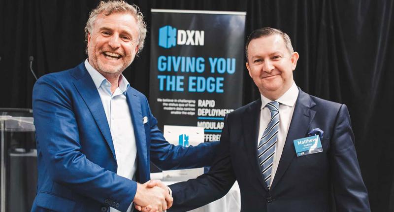 DXN (ASX:DXN) - CEO, Matthew Madden (right)