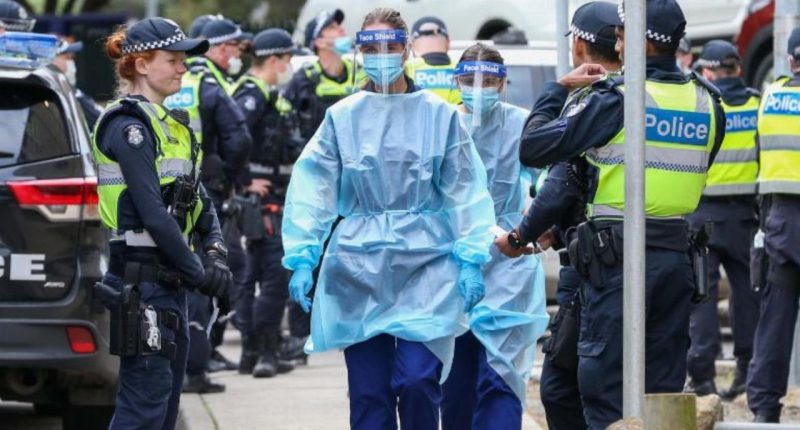 All of Melbourne locked down, as Victoria records 191 new COVID-19 cases