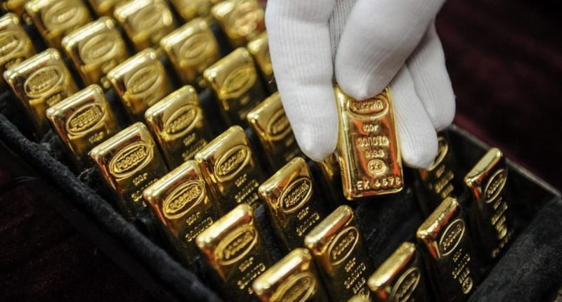 Gold stocks surge as spot price continues to rise