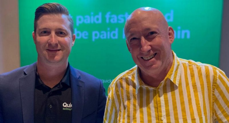 QuickFee (ASX:QFE) - CEO, Bruce Coombes (right) - The Market Herald