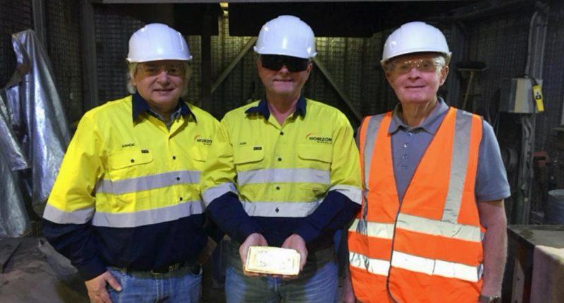 Horizon Minerals (ASX:HRZ) - Managing Director, Jon Price (centre) - The Market Herald